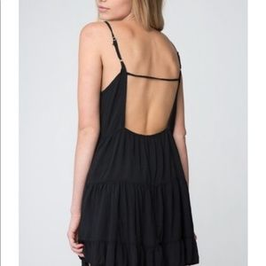 Brandy Melville • black babydoll dress